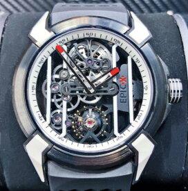 【新品】JACOB&CO ジェイコブ エピックエックス  EX100.21.WR.WB チタン ステンレススチール メンズ 腕時計 watch 【送料.代引き無料】