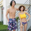 It is advantageous by a pair swimsuit bulk buying! It is a separate mail beach underwear three points set flare bikini by a present in a review after arrival at swimsuit men trunks + swimsuit レディースホユキカップル matching beach swimsuit /S/M/L/LL