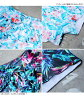 Cloth ホユキ 2018 that child Rakuten cool sexy of the lady's swimsuit S/M/L short pants race floral design mail order beach trend separate mizugi resort mom swimsuit figure cover woman is thick is cute