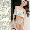 The child figure cover mom navy off-white high waist frill camisole knitting of the pretty plain beach resort woman includes 2018 new work swimsuit Lady's bikini three points set S/M/L paisley lifting bust sexy