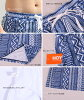 Size rompers bandeau gathers bikini surf underwear three points set navy ethnic Bohemian S/M/L where the latest couples lover boyfriend she matching pair swimsuit couple pair look Lady's men couple swimsuit pair swimsuit is big for 2,018 years