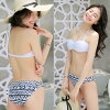 Bohemian ethnic short pants holder neck hips thigh mom swimsuit fashion is chubby for size figure cover swimsuit 40s 20 generations which sea pool resort adult having a cute 2018 new work four points set swimsuit S/M/L/LL camisoles has a big in 30s