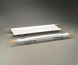 【送料無料】【直送の為、代引き不可】ナビス 担架 MT−1 二つ折り スチール 7.5kg 0-9542-01