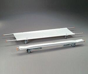 【送料無料】【直送の為、代引き不可】ナビス 担架 MT−6 二つ折り・取手伸縮型 アルミ 6.2kg 0-9542-06