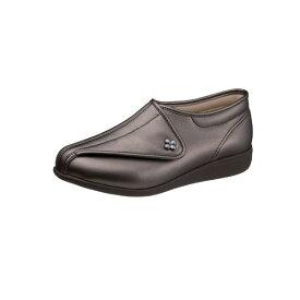 アサヒシューズ 『快歩主義』 L011 ブロンズスムース(女性用・婦人用) 両足販売【L011】【高齢者用靴・ケアシューズ・軽量・介護用シューズ・リハビリシューズ・クリスマス・お祝い・軽量・リハビリシューズ】LO11
