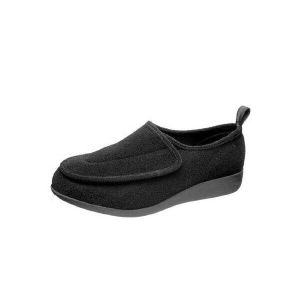 アサヒシューズ 『快歩主義』 M003 ブラック(男性用・紳士用) 両足販売【M003】【高齢者用靴・ケアシューズ・介護室外用・軽量・介護用シューズ・リハビリシューズ・親孝行・父の日】