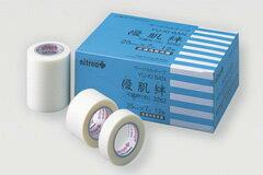 優肌絆不織布(白)(ゆうきばん)【不織布テープ・肌に優しいサージカルテープ・粘着テープ・医療用テープ・角質保護テープ・剥離防止テープ・医療衛生テープ・医療テープ・皮膚保護テープ・優肌絆 3261・優肌絆 3262・優肌絆 3265】