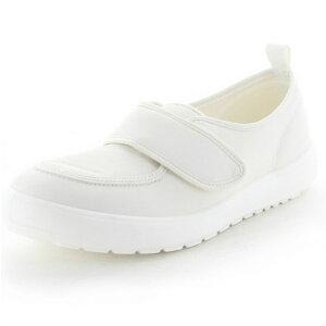 MS大人の上履き04 ホワイト ムーンスター(moonSTAR)【高齢者用靴・ケアシューズ・介護室外用】【軽量・介護用シューズ・リハビリシューズ・シルバー・シニア・お年寄り】