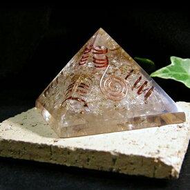 置くだけでパワースポットになる! ヒマラヤ水晶 オルゴナイト ピラミッド パワ−スト−ン 天然石 水晶メンズ レディース 癒し 浄化 幸運 天然石