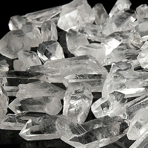 パワーストーン 【水晶】 【さざれ石よりも効果あるかも】 パワ−スト−ン の 充電 浄化 に ミニ水晶ポイント 100g 浄化石 水晶 人気 アーカンソー州産 ★ 水晶 石 天然石 占い 開運 すいしょう 癒し 浄化 幸運