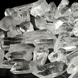 ミニ水晶ポイント 100g パワーストーン 水晶 さざれ石よりも効果あるかも パワ−スト−ン の 充電 浄化 に 浄化石 水晶 人気 アーカンソー州産 水晶 石 天然石 占い 開運 すいしょう 癒し 浄化 幸運 水晶ポイント