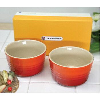 2個入り ル・クルーゼ ラムカン L 大 オレンジ (日本正規販売品)910028-00