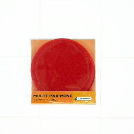 ル・クルーゼ マルチ・パッド・ミニ 2枚入り チェリーレッド 930079-00 (日本正規販売品)