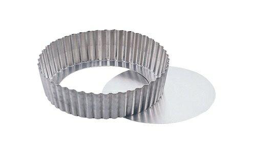 18-8 タルト深型 キッシュ底取 PP−696 φ20cm (WTL892)
