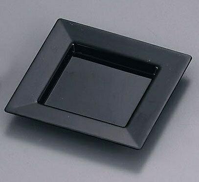 ソリア プレート75×75 (25枚入) PS30303 ブラック (NSL2003)