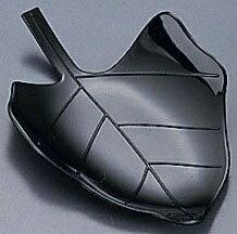 ソリア リーフプレート (50個入) PS32143 ブラック (NSL2803)