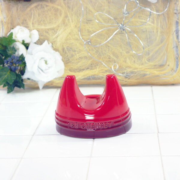 ル・クルーゼ リッド・スタンド(チェリーレッド) 910429-11-060 (日本正規販売品)