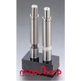 minosharp (ミノシャープ) ワンハンド ペパー&ソルトミル セット SP135W
