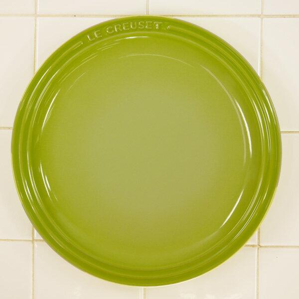 ル・クルーゼ ラウンド・プレート・LC 23cm フルーツグリーン910140-23-71 (日本正規販売品)
