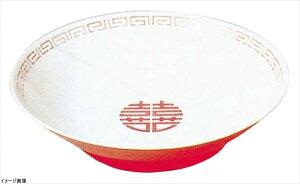 ENTEC 冷麺皿 白/赤 瑞祥 CA-20