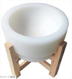 プラスチック 餅臼(木台付)φ500