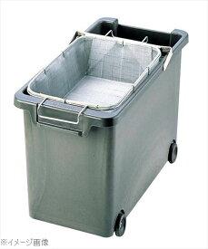 強化耐熱プラスチック フライヤー用 油缶(カゴ付)