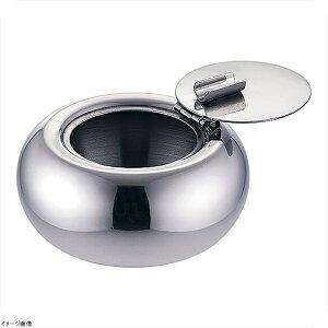(18-8ステン) カフェテラス灰皿 フタ付き
