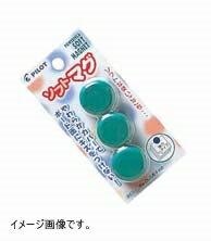 チョークレスボード専用マグネット WBGS-P26-3P 緑