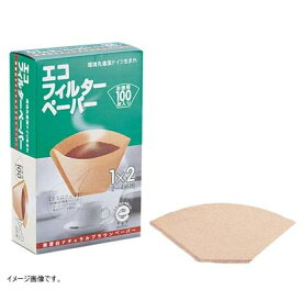 メリタジャパン コーヒーフィルターエコブラウン 1−2杯用100枚