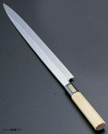 TKG 佐文 本焼鏡面仕上 柳刃 木製サヤ 30cm