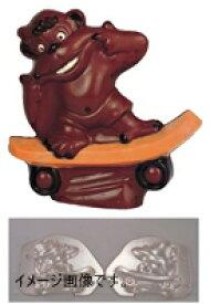 デコレリーフ チョコレートモルド ゴリラ EU-562