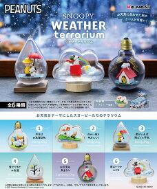 リーメント SNOOPY WEATHER Terrarium BOX スヌーピー 全6種類