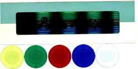 カジノチップ販売【POKER CHIP P-20】プラスチック製ポーカーチップ 5色組み100枚セット Φ30mm