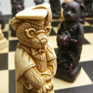 ※送料無料!※【親から子へと受け継がれていくテディベア】チェス駒 テディベア A172