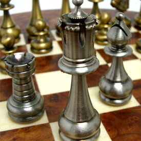 ※送料無料!※【イタリア製 ブラスチェスセット】ART75B ペルシャンクラシックイタリア製チェスボード 720R