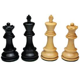 ※送料無料!※【ロシアンスタントンタイプのチェス駒】オールドロシアンスタントン 黒檀1007