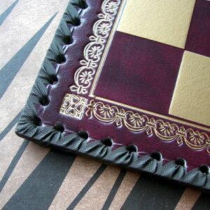 【イタリア製チェス&バックギャモンボックス】イタリア チェスボックス 219GR