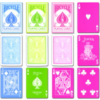 BICYCLE PASTEL PLAYING CARDS トランプバイスクルパステルカラー