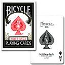 【トランプの最高峰BICYCLE(バイスクル)】バイスクル808 ポーカー ブラック