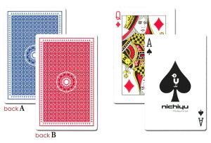 【ポストカードより大きい!ディスプレイやマジック、教育用に】オリジナル・ジャンボトランプ
