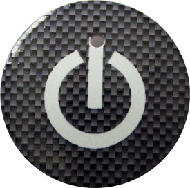 【送料無料】 車 アクセサリー オデッセイ ODYSSEY RC1 RC2 RC4 スタートボタンカバー ・スイッチカーボン柄 黒・ 貼るだけ かんたん取付 プッシュ スタート スイッチ カバー Push Start Switch Accessory for HONDA 車用