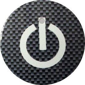 【送料無料】 車 アクセサリー エスクァイア ESQUIRE スタートボタンカバー ・スイッチカーボン柄 黒・ 貼るだけかんたん取付 プッシュ スタート スイッチ カバー Push Start Switch Accessory for TOYOTA ・スイッチカーボン柄 黒・ TOYOTA 車用