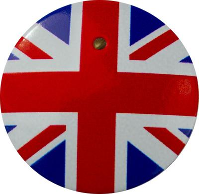 【送料無料】 車 アクセサリー シエンタ SIENTA スタートボタンカバー ・国旗イギリス風・ えっ!貼るだけ?かんたん取付 プッシュ スタート スイッチ カバー Push Start Switch Accessory for TOYOTA ・国旗イギリス風・ TOYOTA 車用
