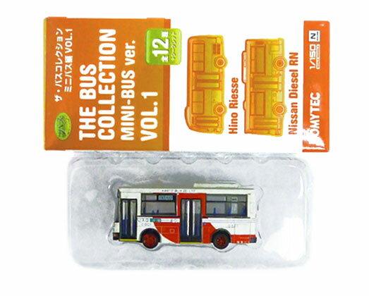 【中古】ニューホビー/トミーテック バスコレクション ミニバス編 VOL.1(M002) 日産ディーゼルRN 関東バス【A】メーカー出荷時の塗装ムラはご容赦下さい。