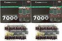 【中古】ニューホビー/トミーテック 鉄道コレクション(K376+K377) 阪急電鉄7000系 アルミ量産車(リニューアル) 2箱(4…
