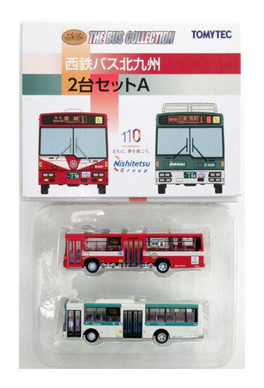 【中古】ニューホビー/トミーテック バスコレクション(N200+N201) 西鉄バス北九州 2台セットA【A】メーカー出荷時より少々の塗装ムラは見られます。個体差があります。ご理解・ご了承ください。