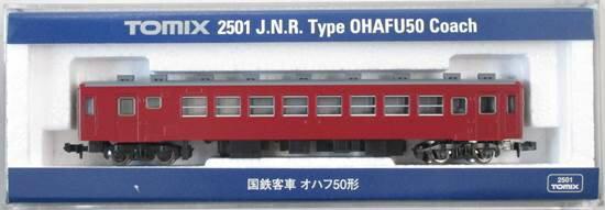 【中古】Nゲージ/TOMIX 2501 国鉄客車 オハフ50形 2014年ロット【A】