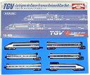 【中古】Nゲージ/KATO 10-909 TGV フランス-スイスタイプ 6両セット【A'】外箱傷み・色褪せ