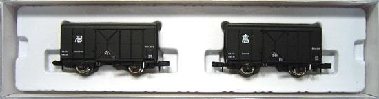 【中古】Nゲージ/マイクロエース A3031 テム300 鉄製有がい車 銀車輪仕様 2両セット【A】