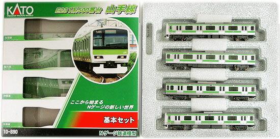 【中古】Nゲージ/KATO 10-890 E231系500番台 山手線 4両基本セット 2015年ロット【A】
